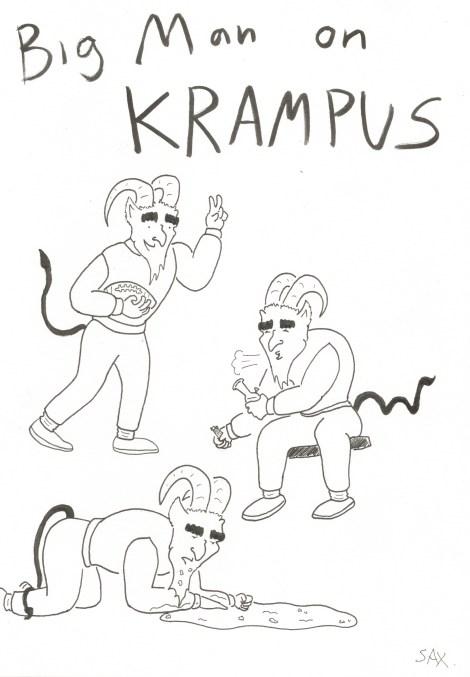 Big Man on Krampus